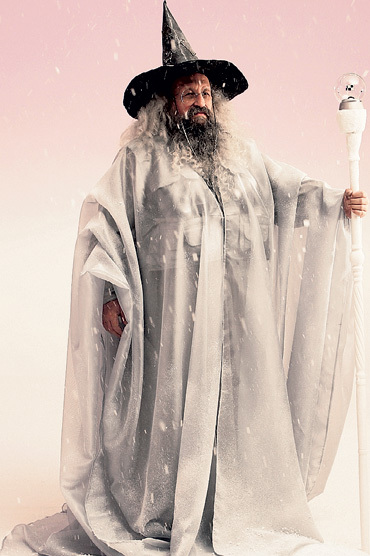 Анатолий ВАССЕРМАН предстанет в образе волшебника... Фото предоставлено каналом РЕН ТВ