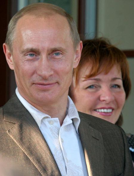 Владимир ПУТИН с бывшей женой Людмилой