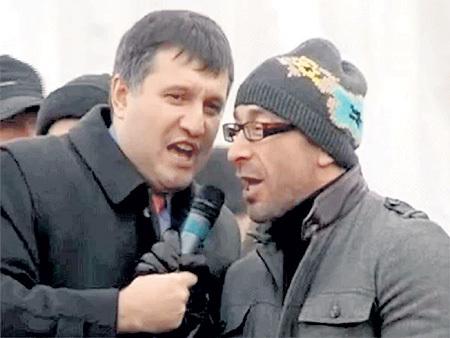 Спеться Арсену АВАКОВУ (слева) и Геннадию КЕРНЕСУ не удалось: не поделили кресло мэра Харькова и бизнес в области