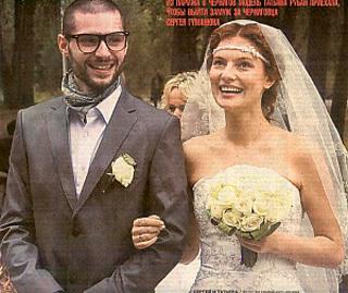 Модель Таня РУБАН вышла замуж за танцора Сергея ГУМАНЮКА в 2009 году. Фото: gorod.cn.ua