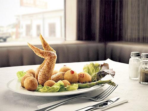 Чтобы блюда из полезной курицы не надоели, сервируйте их красиво