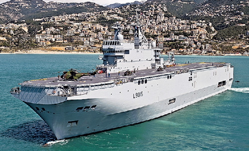 «Мистраль» по-французски - это лишь пустой корпус: вооружение и системы управления боем мы должны будем установить свои