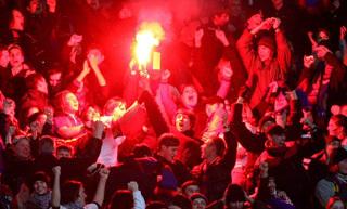 ЦСКА вновь наказан за бесчинства своих фанатов. Фото: РИА «Новости»