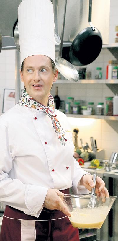 ТАРАСОВ, как и его герой, любит готовить