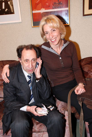 Илья РУТБЕРГ с дочерью Юлией