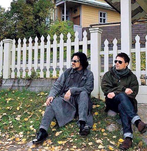 Даню и Филю... Фото: «Твиттер» Алексея ШЕВЦОВА