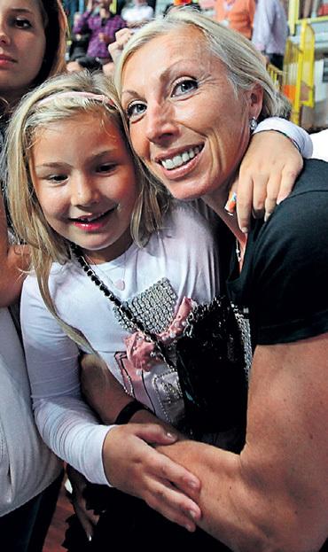 Волейболистка Ирина КИРИЛЛОВА с дочкой Никой