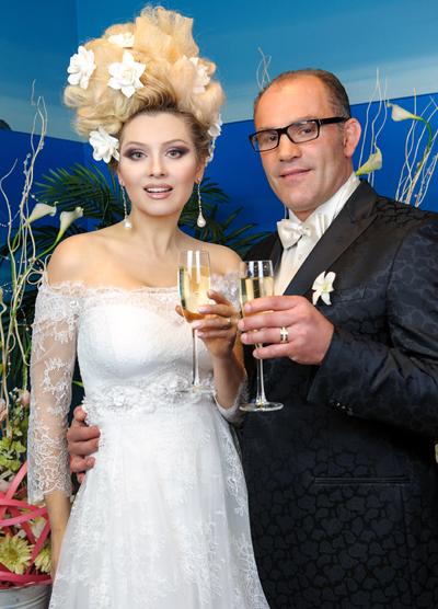 Лена ЛЕНИНА с бывшим мужем Паскалем