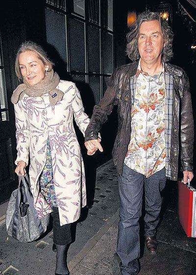 Джеймс МЭЙ с гражданской женой, танцевальным критиком Сарой ФРАТЕР