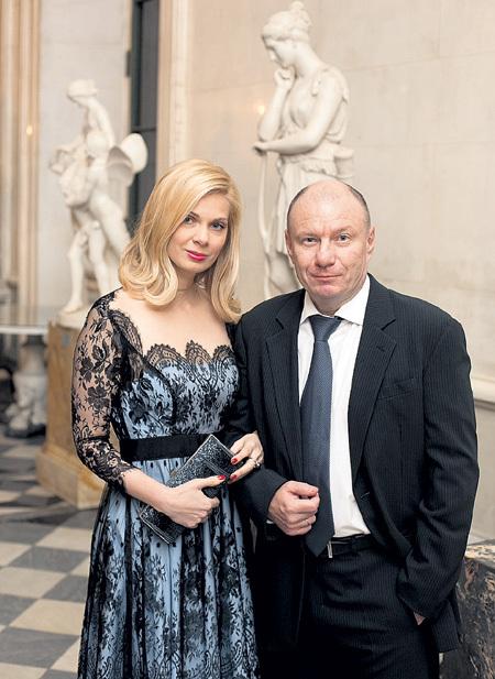Председатель попечительского совета Эрмитажа Владимир ПОТАНИН с супругой
