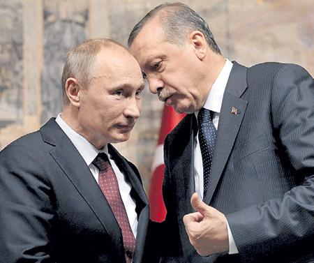 В конце года гроссмейстер ПУТИН разыграл турецкий гамбит. Капризные европейцы не получат «Южный поток», чему несказанно рад г-н Реджеп ЭРДОГАН