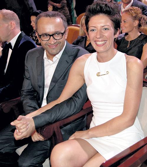 На фестиваль «Кинотавр» Андрей ЗВЯГИНЦЕВ приехал вместе с супругой Анной