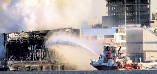 Одновременно с библиотекой ИНИОНа полностью выгорело хранилище городского архива в Нью-Йорке...