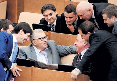 ЖИРИНОВСКИЙ о двукратном повышении депутатских зарплат: «Сиди, балдей, ничего не делай». Фото: prikol.ru