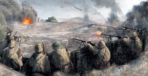 На местах боёв часто происходит необъяснимое: тени погибших воинов напоминают о себе