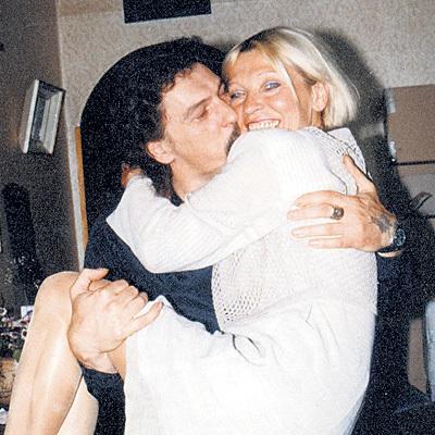 Со вторым мужем-художником звезда прожила в браке 28 дней