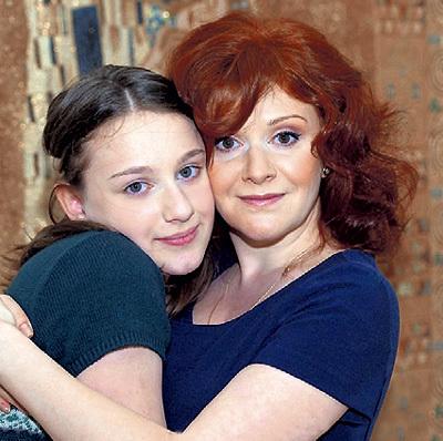 Маша КАЦ с дочкой Симой. Фото: Facebook.com