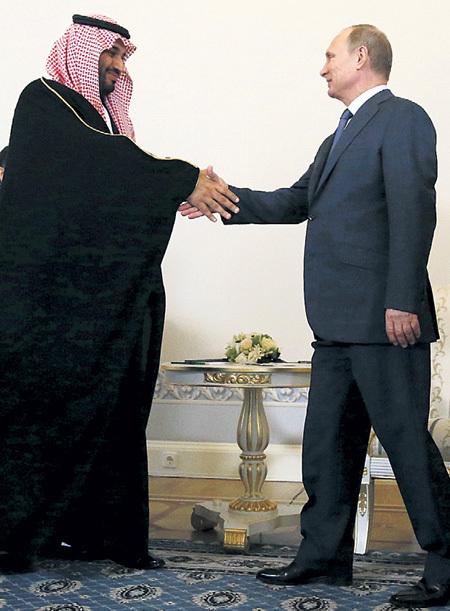 Принц САУД и президент ПУТИН уверены в скором росте цены на «чёрное золото». Фото: © Reuters