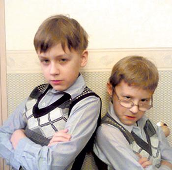 Сыновья КРАСКО и ВЯЛЬ... Фото: Vk.com
