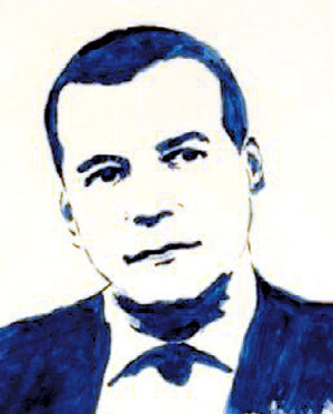 ...и МЕДВЕДЕВ, нарисованные бюстом. Фото: iraromanovskaya.livejournal.com
