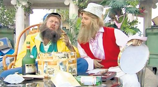 Бомжам с Рублёвки Сифону и Бороде из «Наша Russia» кодироваться не надо, им и так хорошо!