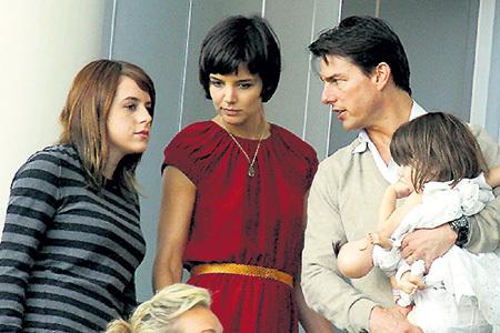 Том КРУЗ с приёмной дочерью Изабеллой