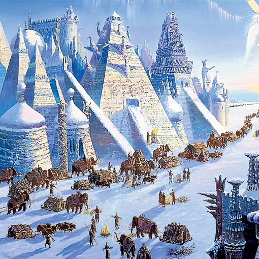 Вот такими прекрасными были города наших дальних предков