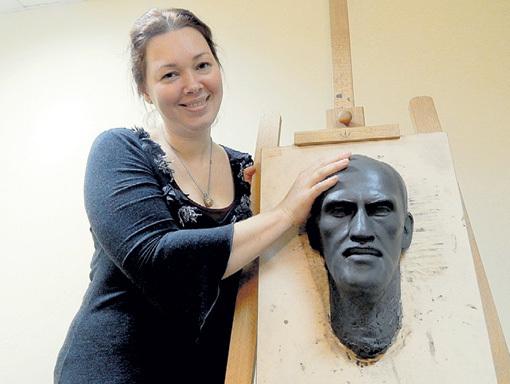 Создавая лечебные портреты, психолог Светлана КЮН помогает людям справиться с внутренними проблемами