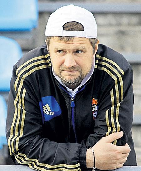 Сергей ШУСТИКОВ в ЦСКА был правой рукой Леонида СЛУЦКОГО. Фото: Cskanews.com