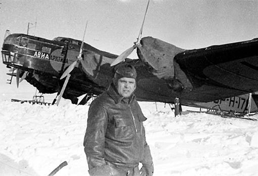 ВОДОПЬЯНОВ «построил» воздушный мост в Арктику