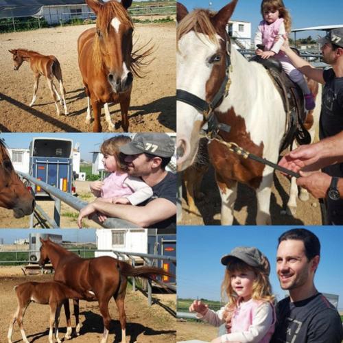 Маруся Макарская осваивает конный спорт
