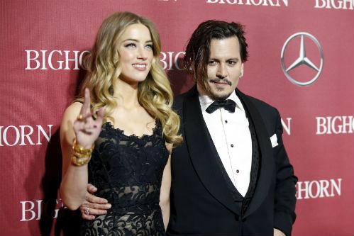 Джонни ДЕПП и Эмбер ХЁРД (Фото: © Reuters)