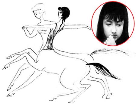 Талантливая художница Надя РУШЕВА скончалась 6 марта 1969 года из-за разрыва врождённой аневризмы сосуда головного мозга. Фото с сайта Rusheva.org.ua