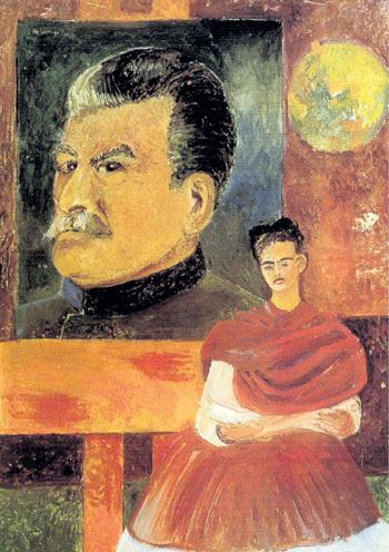 «Автопортрет со Сталиным», 1954 г.