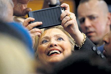 Коррупционерша Хиллари за цент удавится