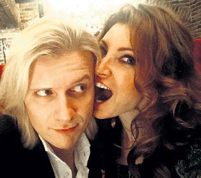 Первая жена КИСЛОВА Анастасия МАКЕЕВА с нынешним мужем Глебом МАТВЕЙЧУКОМ. Фото: Facebook.com