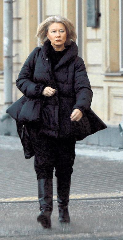 Кажется, Дарья МИХАЙЛОВА до сих пор не отошла от трагической смерти мужа. Фото Руслана ВОРОНОГО