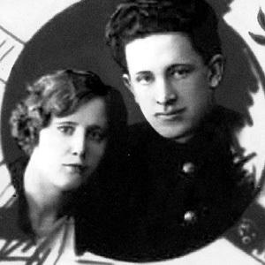 Юрий Владимирович с первой женой Ниной ЕНГАЛЫЧЕВОЙ