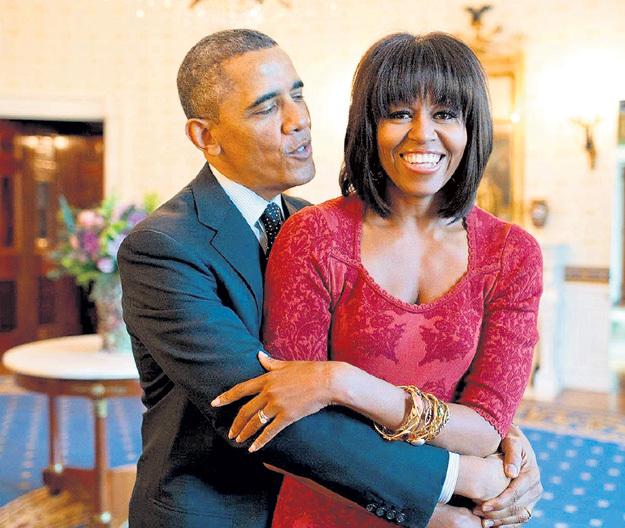 Супруги ОБАМА бранятся - только тешатся