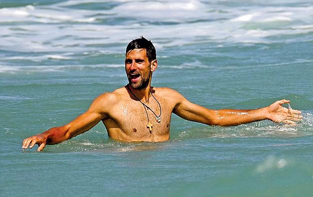 Новак готовился к Рио в Марбелье