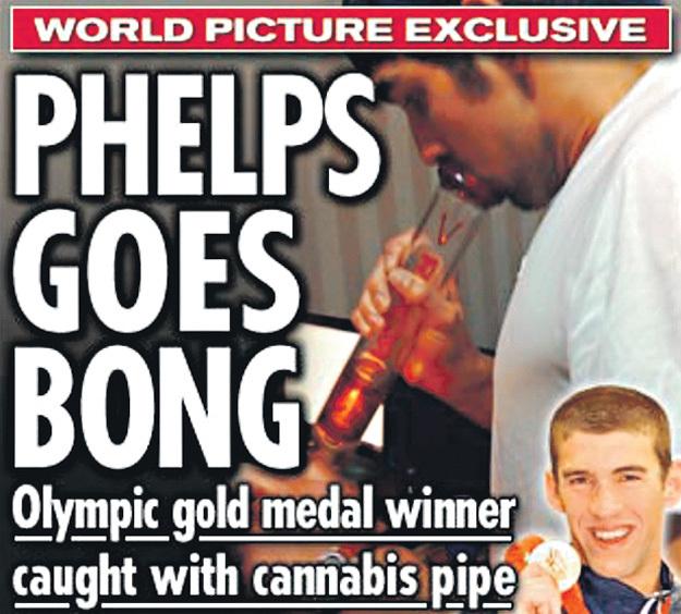 Этот кадр на обложке таблоида «News of the World» едва не стоил рекордсмену карьеры