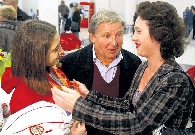 Родители Алю обожают, но сами признают, что характер у дочки - не сахар. Фото Константина ИВАНОВА/«Советский спорт»