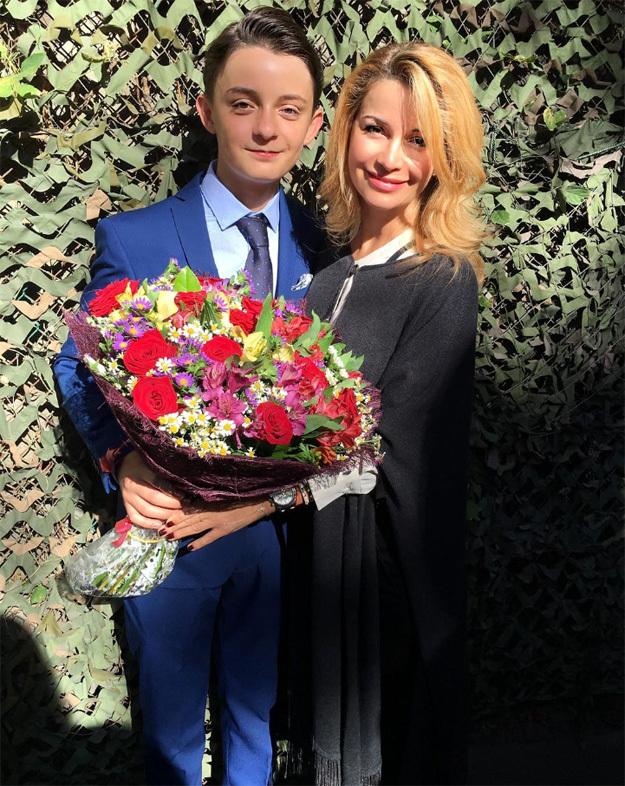 Артём с мамой Ольгой ОРЛОВОЙ