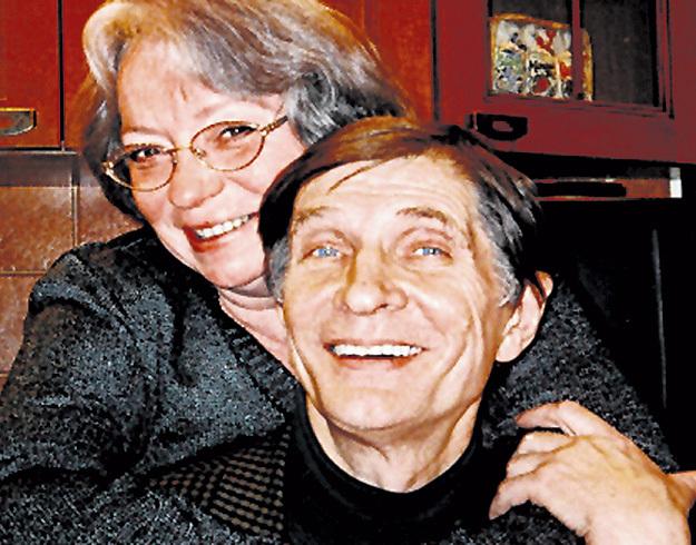 С женой Натальей Юрьевной