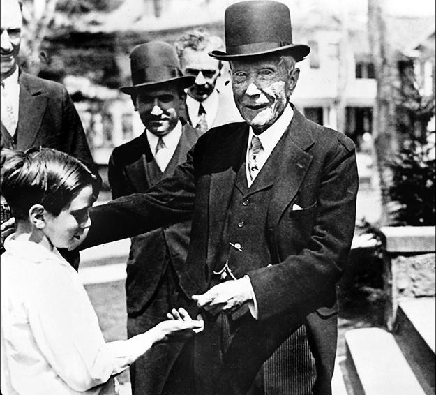 Джон РОКФЕЛЛЕР, первый миллиардер в мире