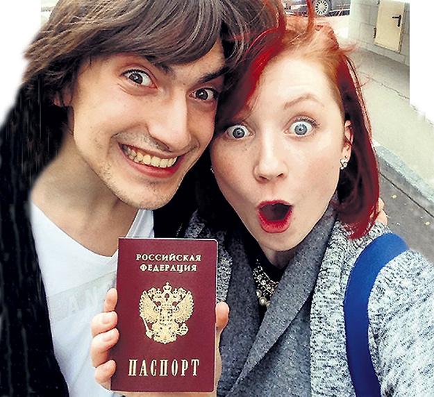 В этом году Тиффани на радость партнёру получила российский паспорт. Фото: Instagram.com