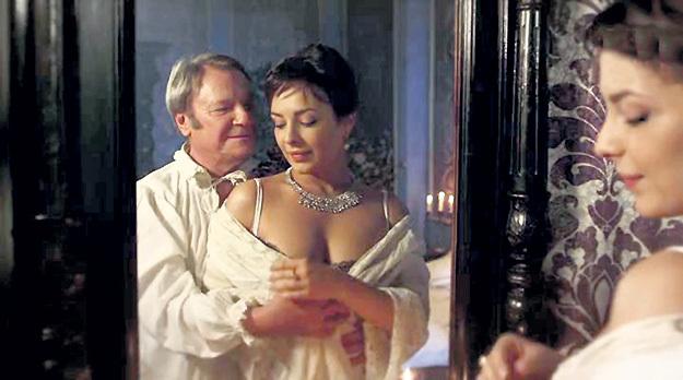 В картине «Уездная дама» партнёром Анны был великолепный Сергей ШАКУРОВ