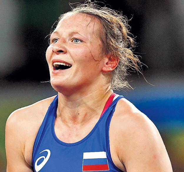 ТРАЖУКОВА не снесла ударов по лицу. Фото: © РИА «Новости»