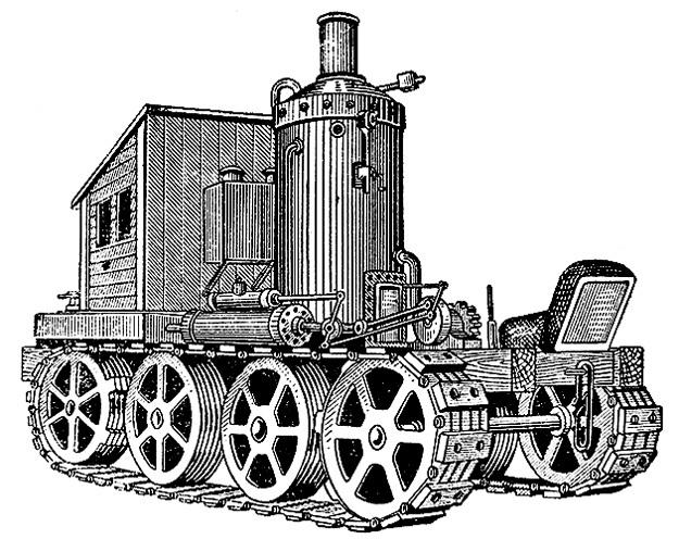 ...а Фёдора БЛИНОВА - за первый гусеничный трактор, запатентованный им в 1879 году