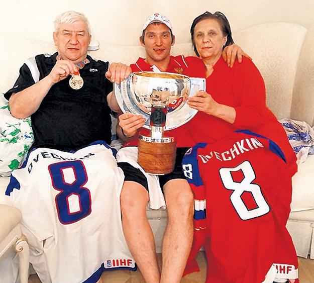 В семье ОВЕЧКИНЫХ не счесть спортивных наград. Фото: Instagram.com
